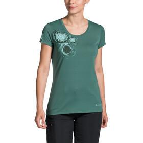 VAUDE Gleann V T-shirt Femme, nickel green